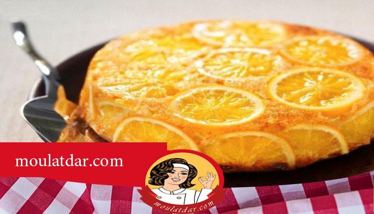 طريقة تحضير كيكة بالبرتقال