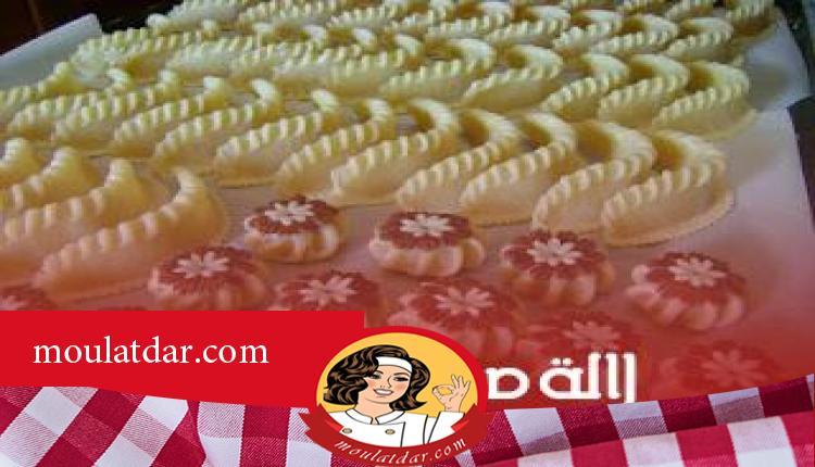 حلويات مشكلة باللوز للمناسبات والافراح المغربية